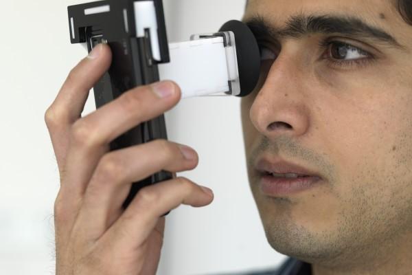 Eye Exams Using Smartphones